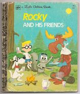 Rocky and his Friends Little golden book