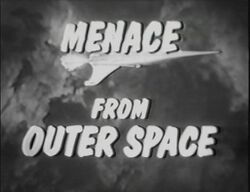 Menace from outer space title