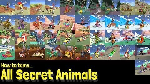 How to Tame Every Secret Animal!