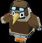 Baby Pilot Penguin