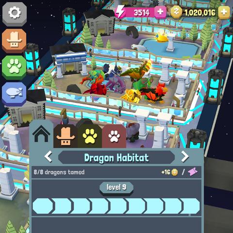 The level 9 dragon habitat