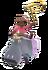 Ballerina Hippo Icon