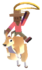 Red Kangaroo Icon