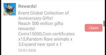 GCAG Final Rewards