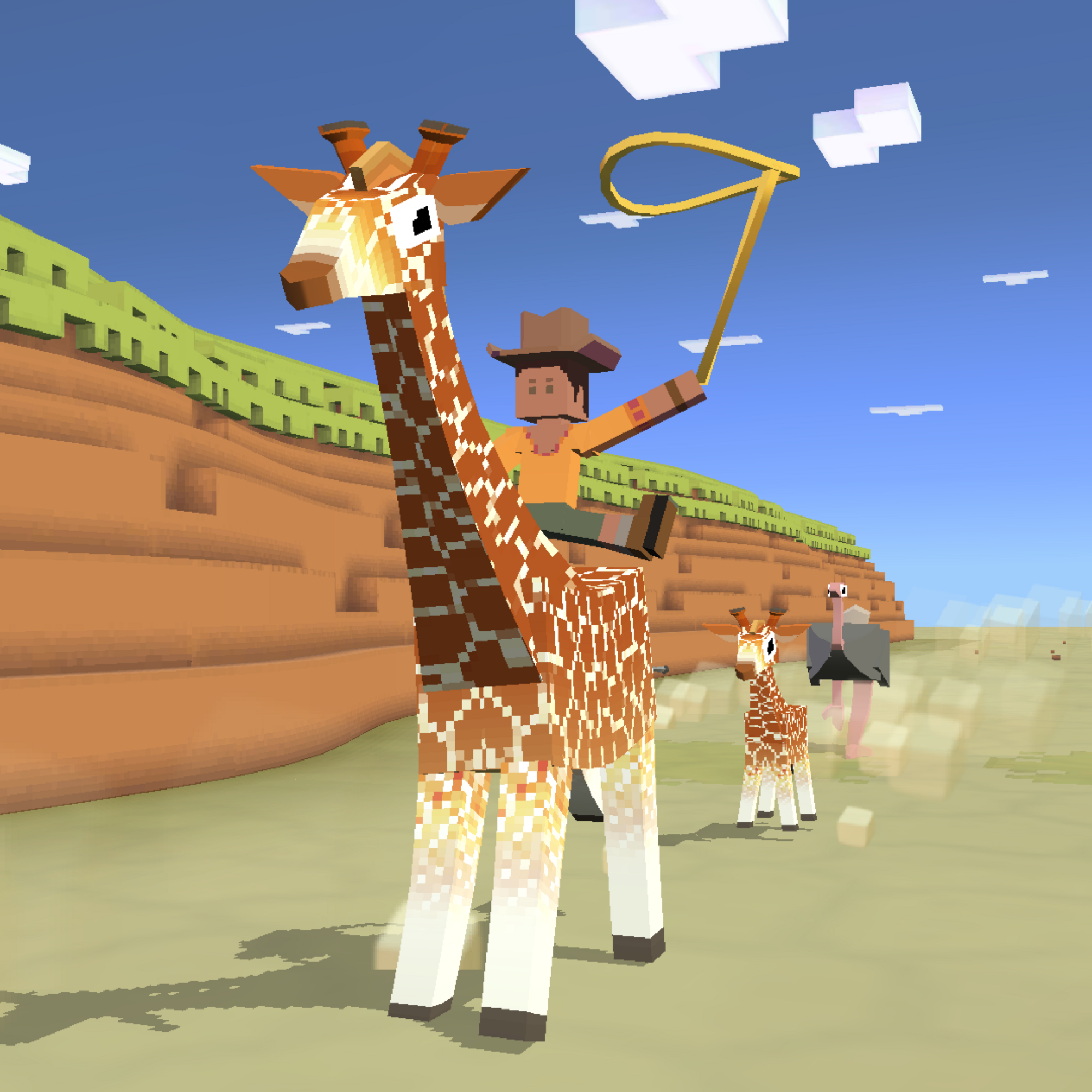 Giraffe Rodeo Stampedia Fandom