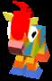 Baby Rainbow Horse