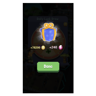 A mysterious amount of zoo coin reward