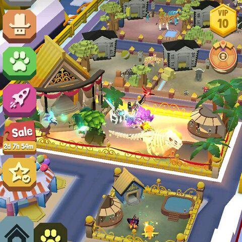 The VIP habitat at level 10