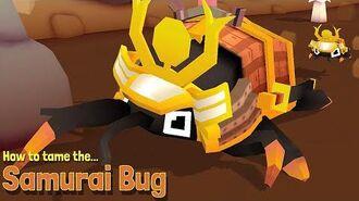 Secret Animal 35 - Samurai Bug