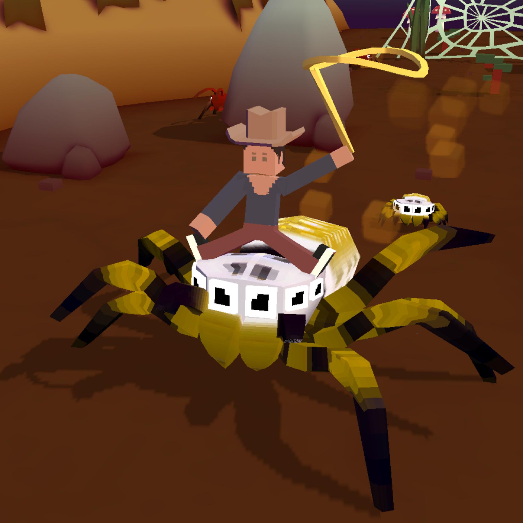 Golden Orbweaver Spider Rodeo Stampedia Fandom Powered