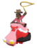 Bumper Car Hippo Icon