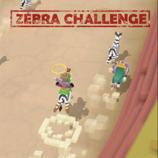 The official graphic for the Zebra Challenge