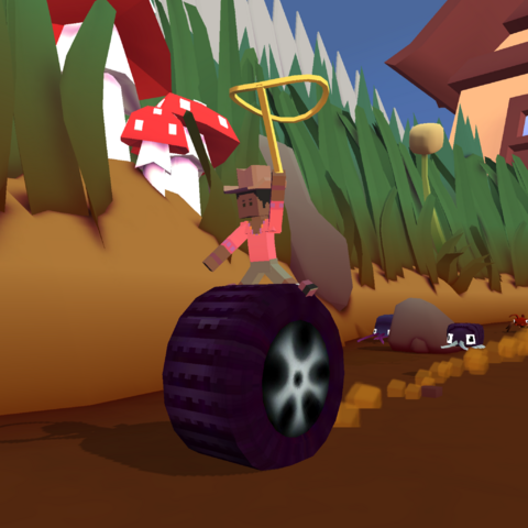 The Tyre Bug when angry