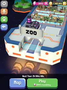 Space Zoo Entrance