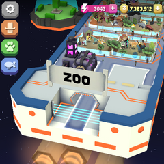 The default entrance of the Space Zoo.