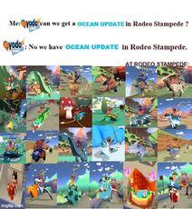 Ocean update rodeo