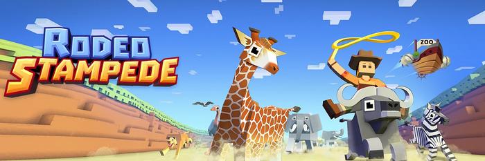 Rodeo stampede sky zoo safari все животные