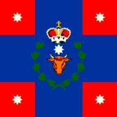 War flag and naval ensign of the Principality of Moldavia (1834-1848)