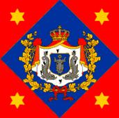 War flag and naval ensign of the Principality of Moldavia (1856-1859)