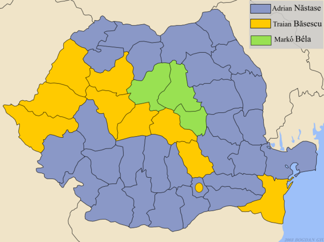 Bestand:Romania-presidential-2004-by-county.png