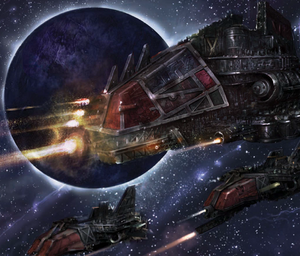 Ork Ships