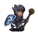 Heavy armor mage