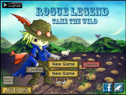 Rogue legend title page2