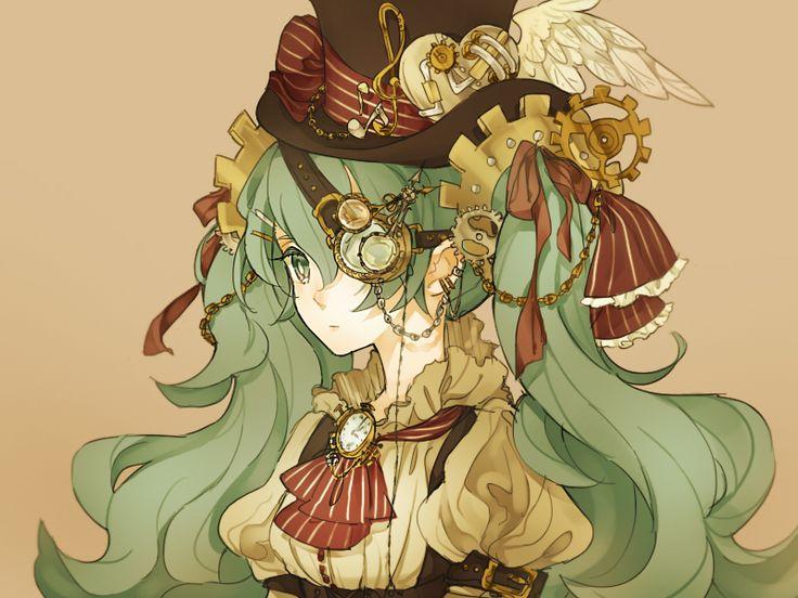 98 Anime Steampunk Girl Steampunk Steampunk Anime Girl Steampunk
