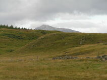 Moorland, with Schiehallion in the background. - geograph.org.uk - 505468