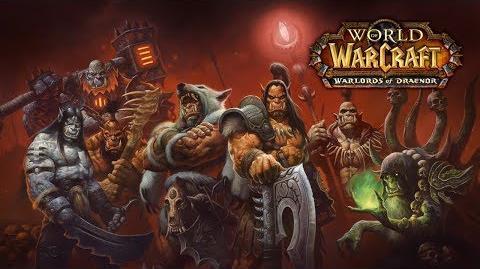Анонс Warlords of Draenor