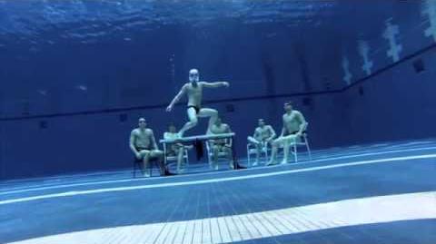 Harlem Shake под водой!!!