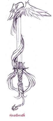 Keyblades sketch by veriun-d34ews8