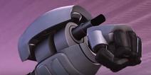 Wrist mounted beam gun