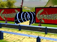 Boomerang entrance