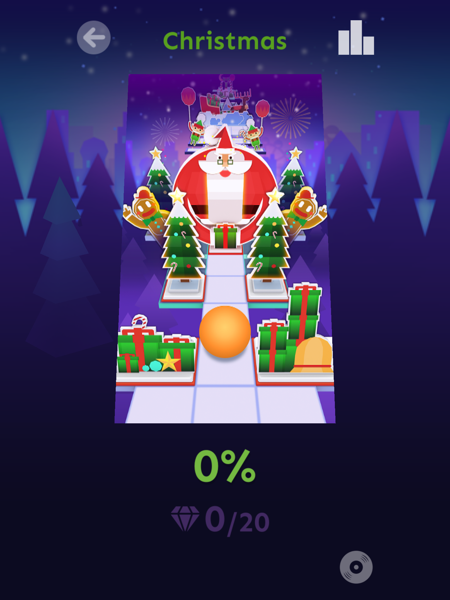 Level 14: Christmas | Rolling Sky Wikia | FANDOM powered ... | 640 x 1136 png 592kB