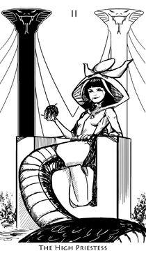Cos arcana priestess