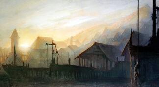Fishing village