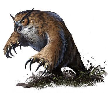 Owl Bear by BenWootten