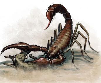 Giant Scorpian by BenWootten