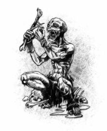 Ghoul beggar by butterfrog