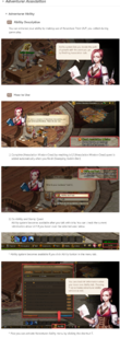 Game adventurer ability