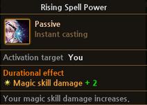 RisingSpellPower