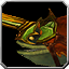 Grünes Drachenzahn-Eisbestien-Reittier Icon