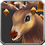 Warmwinter-Reit-Rentier Icon