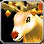 Königliches Reit-Rentier Icon