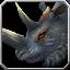 Schwarzes Rhinozeros-Reittier Icon
