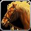 Braunes Pferd Icon
