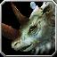 Graues Rhinozeros-Reittier Icon