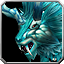 Eisiges Hornlöwen-Reittier Icon