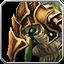 Junges Berhu-Reittier mit goldenem Panzer Icon